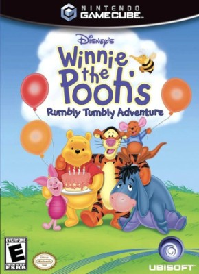 Winnie the Pooh's Rumbly Tumbly Adventure Cover Art