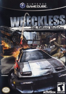 Wreckless: The Yakuza Missions Cover Art