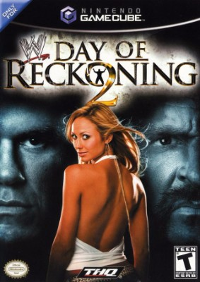 WWE Day of Reckoning 2 Cover Art