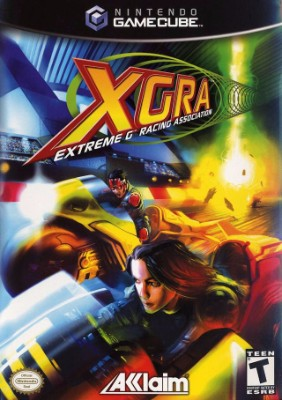 XGRA: Extreme-G Racing Association Cover Art