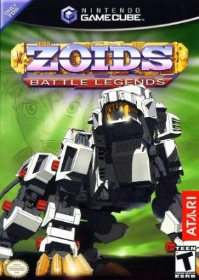 Zoids: Battle Legends Cover Art