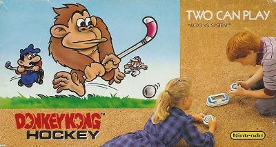 Donkey Kong Hockey [NOA] Cover Art