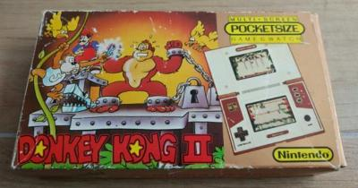Donkey Kong II [Pocketsize] Cover Art