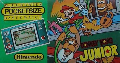 Donkey Kong Junior [Pocketsize] Cover Art