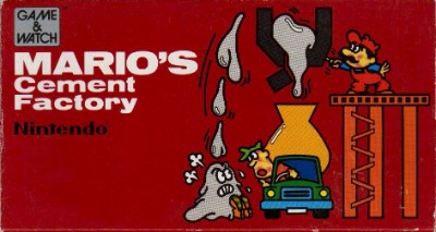 Mario's Cement Factory [ML-102] Cover Art