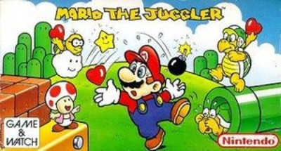 Mario the Juggler [MB-108] Cover Art