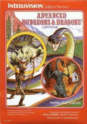 Advanced Dungeons & Dragons Cover Art