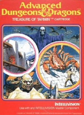 Advanced Dungeons & Dragons: Treasure of Tarmin Cover Art