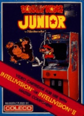 Donkey Kong Junior Cover Art