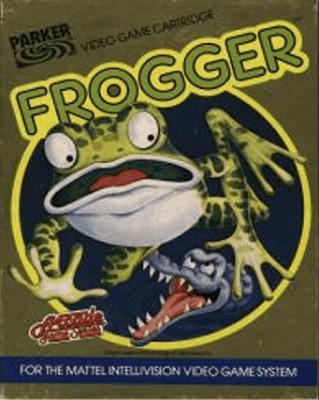 Frogger Cover Art