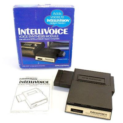 Intellivoice Voice Synthesis Module Cover Art