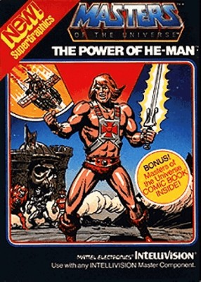 Masters of the Universe: The Power of He-Man Cover Art