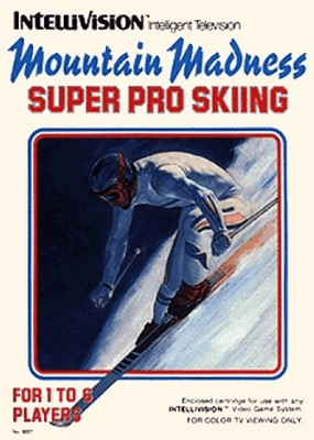 Mountain Madness: Super Pro Skiing Cover Art
