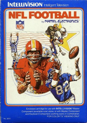 NFL Football Cover Art
