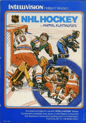 NHL Hockey Cover Art