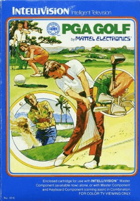 PGA Golf Cover Art