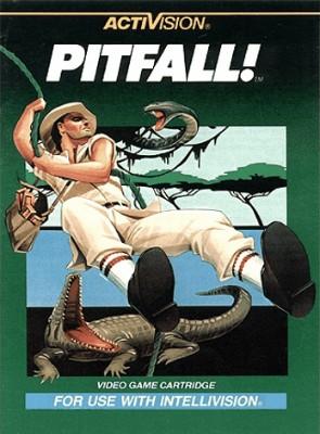 Pitfall! Cover Art