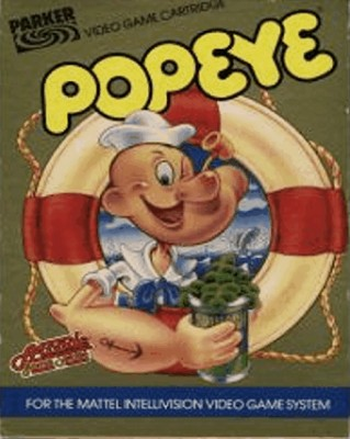 Popeye Cover Art