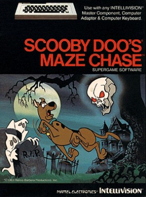 Scooby-Doo's Maze Chase Cover Art