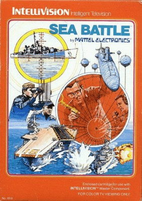 Sea Battle Cover Art