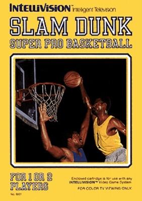 Slam Dunk: Super Pro Basketball Cover Art