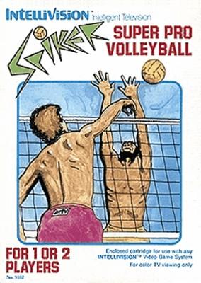 Spiker! Super Pro Volleyball Cover Art