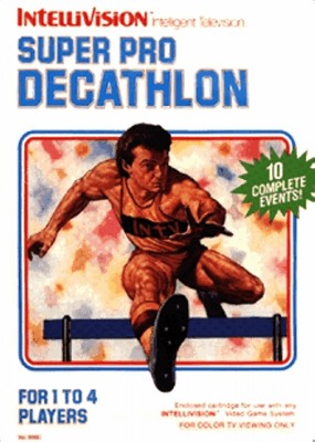 Super Pro Decathlon Cover Art