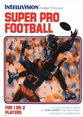 Super Pro Football Cover Art
