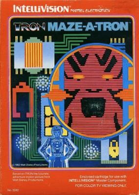 Tron Maze-a-Tron Cover Art