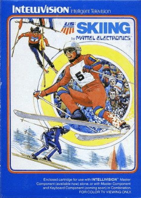 US Ski Team Skiing Cover Art