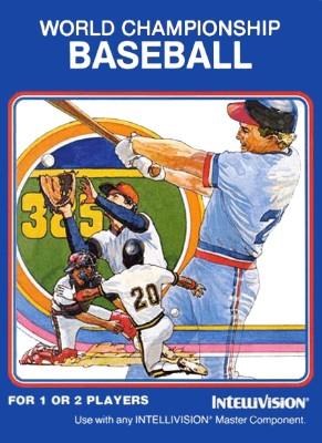World Championship Baseball Cover Art
