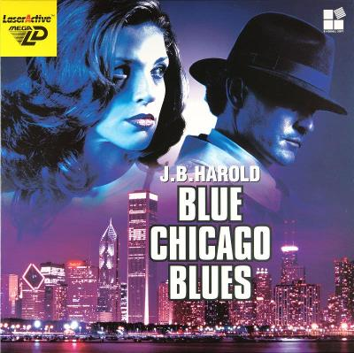 J.B. Harold: Blue Chicago Blues Cover Art