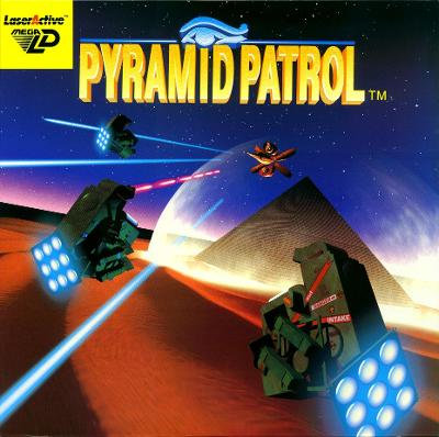 Pyramid Patrol Cover Art