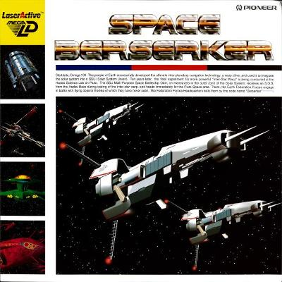 SPace Berserker Cover Art