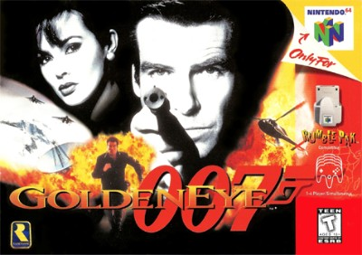 GoldenEye 007 Cover Art