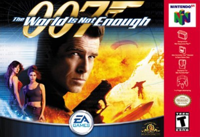 007: The World Is Not Enough [Grey] Cover Art