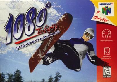 1080 Snowboarding Cover Art