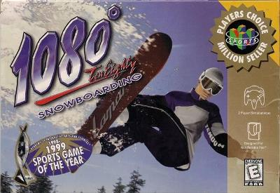 1080 Snowboarding [Player's Choice] Cover Art