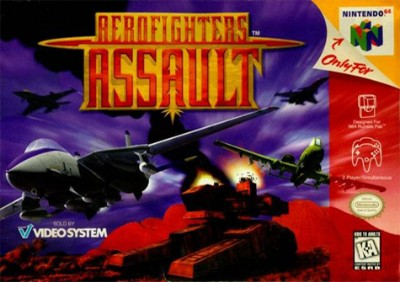 Aero Fighters Assault Cover Art
