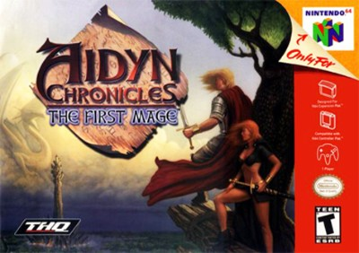 Aidyn Chronicles: The First Mage [Grey] Cover Art