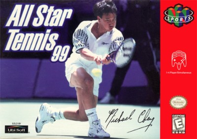 All-Star Tennis '99 Cover Art