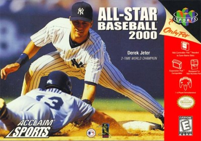 All-Star Baseball 2000 Cover Art