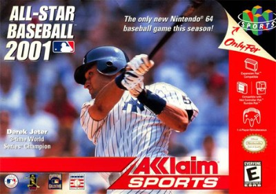 All-Star Baseball 2001 Cover Art