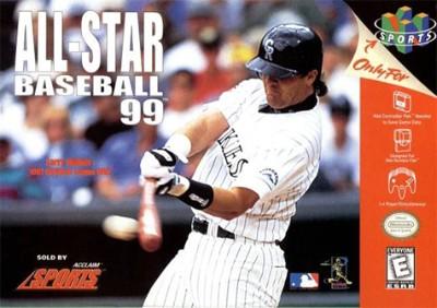 All-Star Baseball 99 Cover Art