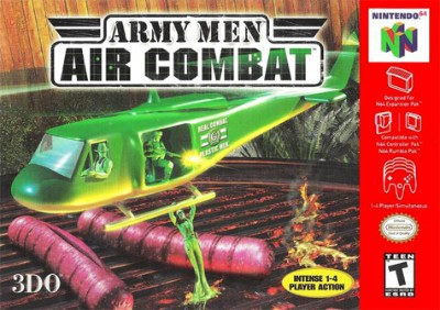 Army Men: Air Combat Cover Art
