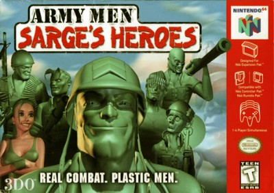 Army Men: Sarge's Heroes Cover Art