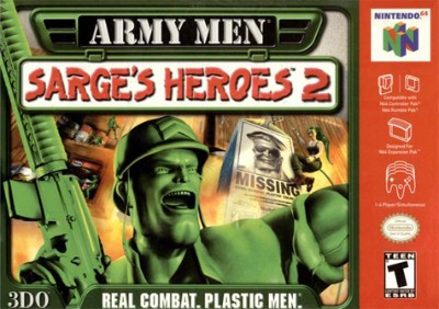 Army Men: Sarge's Heroes 2 Cover Art
