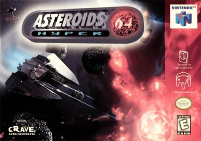 Asteroids Hyper 64 Cover Art