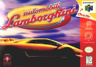 Automobili Lamborghini Cover Art