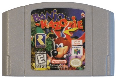 Banjo-Kazooie [Not For Resale] Cover Art